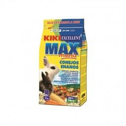Menú Max Conejos Enanos 2kg